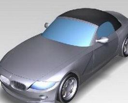 BMW Z4 model 3d model