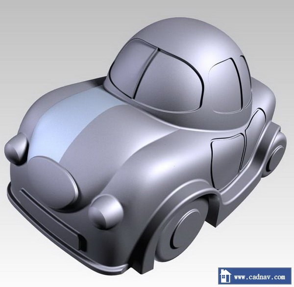 Toy Car 3d Model Pro Engineer Files Free Download