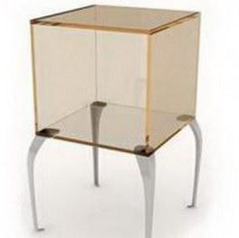 Glass display showcase cabinet 3d model