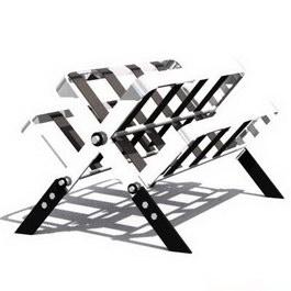 Metal display rack 3d model