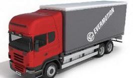 Container trucks 3d model