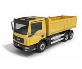 Tilting truck 3d model