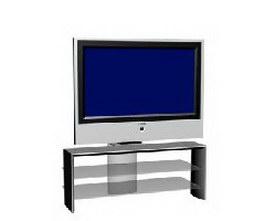 Loewe panel TV set 3d model