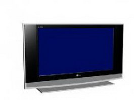 LG LCD 3d model