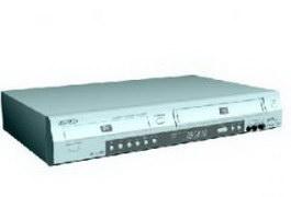 Samsung DVD player 3d model