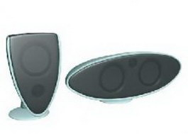 USB Mini Speaker 3d model