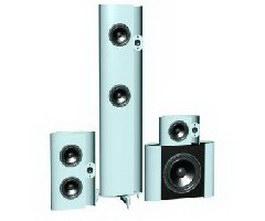 HiFi speakers 3d model