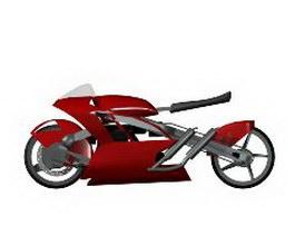 Racing Moto 3d model