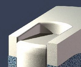Modern cloth sofa 3d model