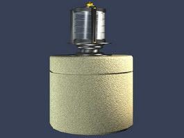 Garden lamp 3d model