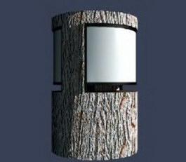 Lawn lamp light 3d model