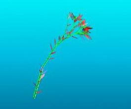 Artificial flower 3d model