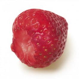 Wild strawberry texture