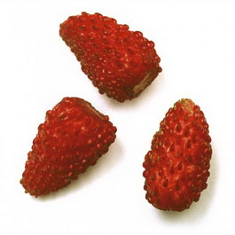 Strawberries texture