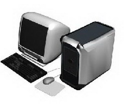 Apple Mac 3d model