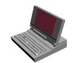 All-In-One PC 3d model