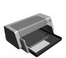 Ink printer 3d model