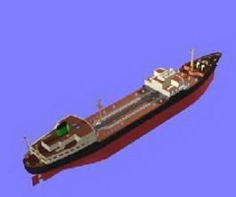 Texaco Ship 3d model
