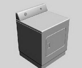 Tumble dryer 3d model