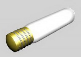 Energy-saving bulb 3d model