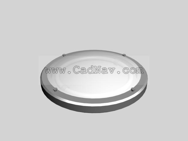 Ceiling Lamp Light 3d Model 3Ds Max Files Free Download