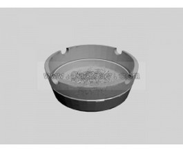 Crystal ashtray 3d model