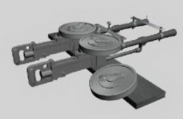Heavy artillery 3d model
