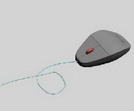 Lenovo mouse 3d model