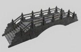 Gardens bridges 3d model