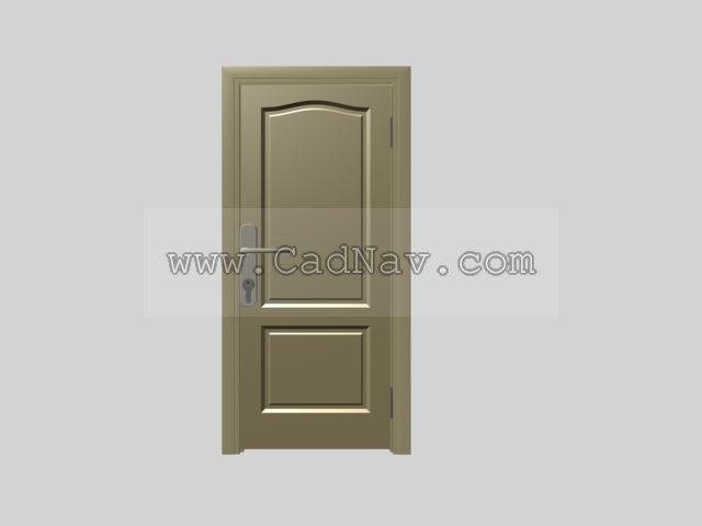 Superior Quality Bedroom Door 3d Model 3Ds Max Files Free