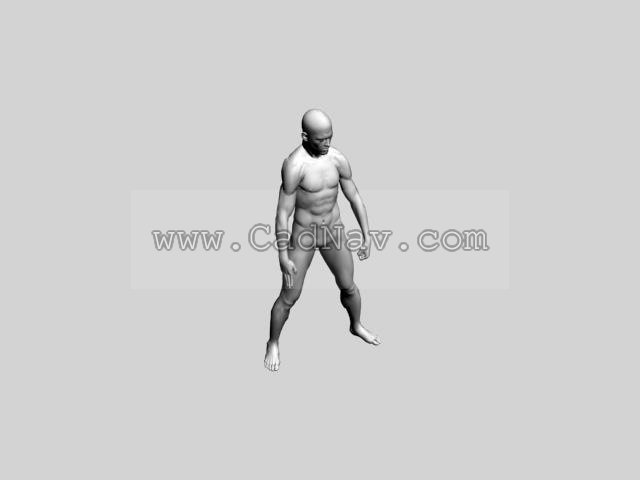 Working Man 3d Model 3ds Max 3ds Files Free Download