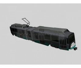 Railway engine 3d model