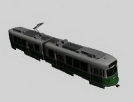 Electric locomotive 3d model