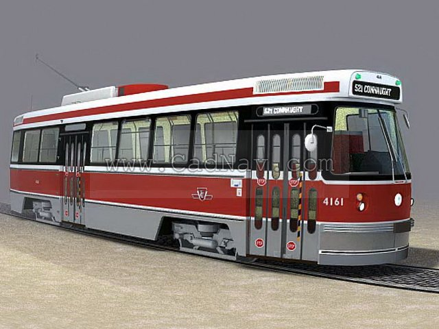 Trolley Car 3d Model 3ds Max 3ds Files Free Download