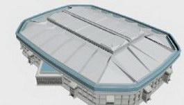 Gymnasium 3d model