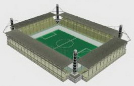 Soccer Stadium 3d model