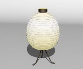 IKEA Spherify bedside lamp 3d model
