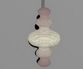 IKEA half-pendant lamp 3d model