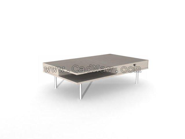 Ikea Small Coffee Desk 3d Model 3ds Max Files Free