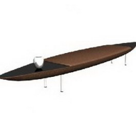 Ilinois home ironing board 3d model