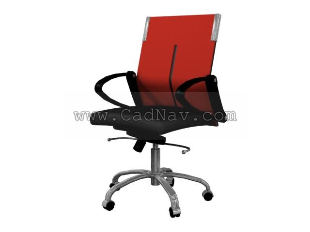 Swivel Office Chair 3d Model 3ds Max Files Free Download