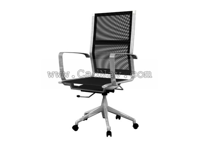 Computer Chair 3d Model 3ds Max Files Free Download