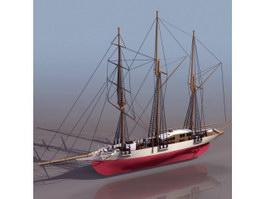Vast cargo ships 3d model