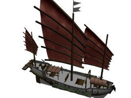 Tern schooner 3d model