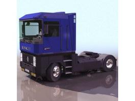 Heavy duty truck 3d model
