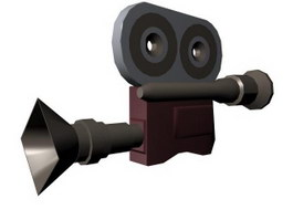 Camcorder 3d model
