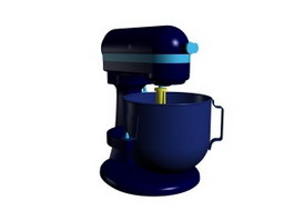 Food mixer blender 3d model