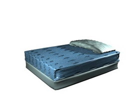 Simmons bed cushion 3d model