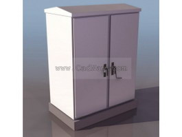 Cable branch box 3d model