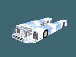 Airport service truck 3d model